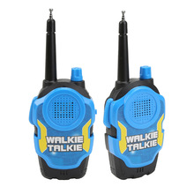 Toy Walkie Talkies For Kids Children Outdoor Interphone Toy Mini Portable Handheld Two-Way Radio Toy 2Pcs/Set With Original Box