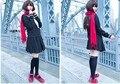 Kagerou проект Mekakushi дэн аяно татэяма платье косплей костюм полный комплект сейлор лолита платье + шарф + шпилька