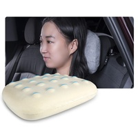 2pcs Memory Cotton Car Neck Protection Pillow Soft Suede Cushion Headrest Support Universal for BMW Mini Cooper Toyota Honda