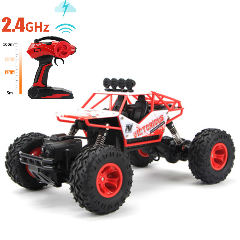 1:12 RC Cars Big Foot 37*23*20 2.4GHz Remote Control Car Drift Off-road Vehicle 4WD Climbing Speed Racing Charging Car Toy large rc car 1 10 high speed racing car for nissan gtr championship 2 4g 4wd radio control sport drift racing electronic toy