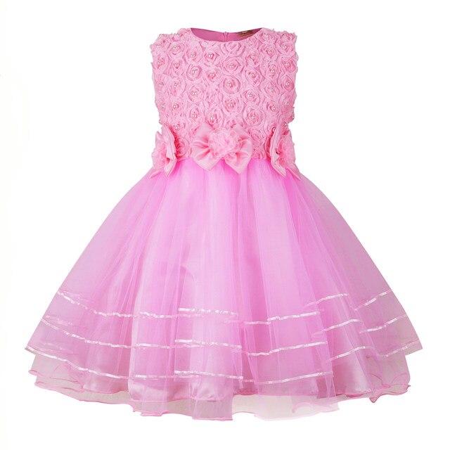 Tienda Online Nacolleo niños nuevo verano color rosa princesa ...