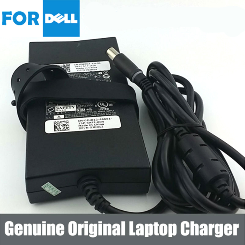 Basix Genuine 19 5V 7 7A 150W AC Adapter Charger Power Supply For laptop Dell Alienware