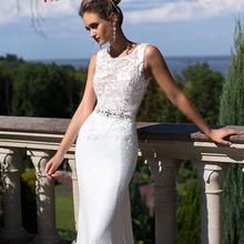 Jark Tozr Vestido De Noiva Renda 2019 Shiny Wedding Dress