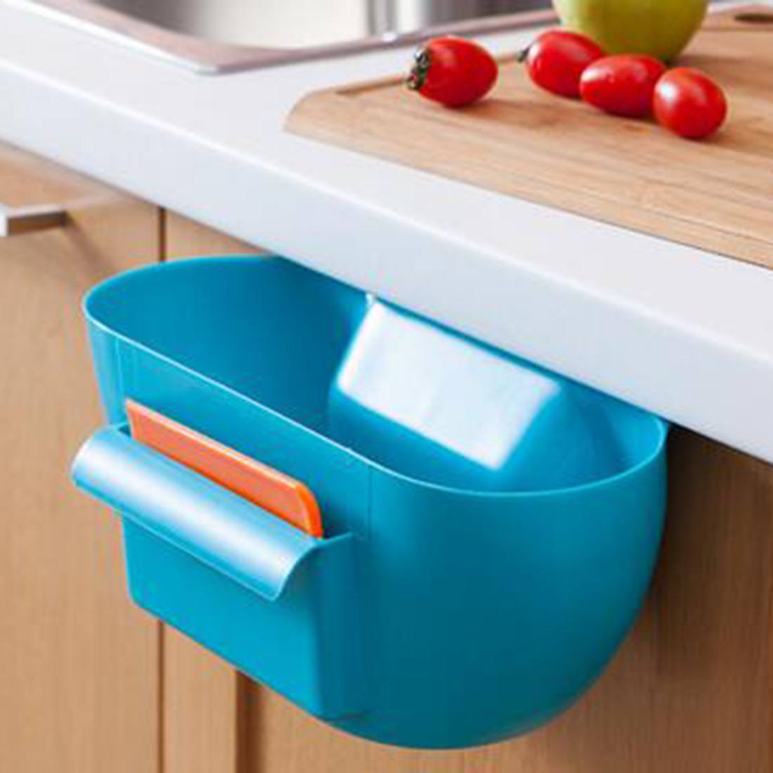 Useful Cute Home Kitchen Cabinet Trash Storage Box Organizers ...