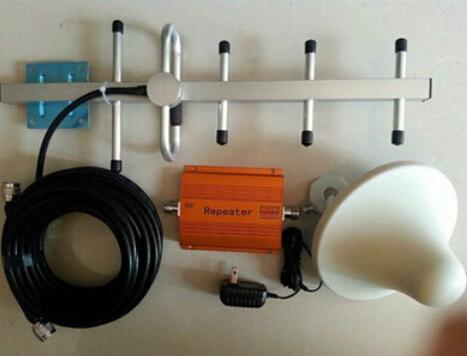 Amplificador de señal móvil GSM exterior singnal booster antena del teléfono móvil de refuerzo