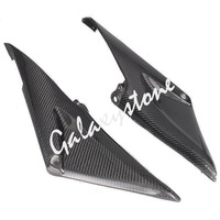 Carbon Fiber Tank Side Covers Panel Fairing for Honda CBR600RR 2005 2006 F5 05 06 Motorcycle Side Lining Part
