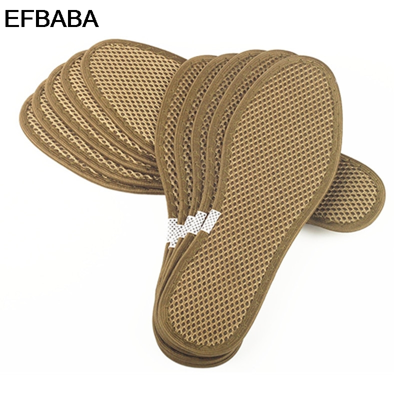 EFBABA Military Training Inlegzolen Bamboo Charcoal Zweet Absorberend - Schoenaccessoires