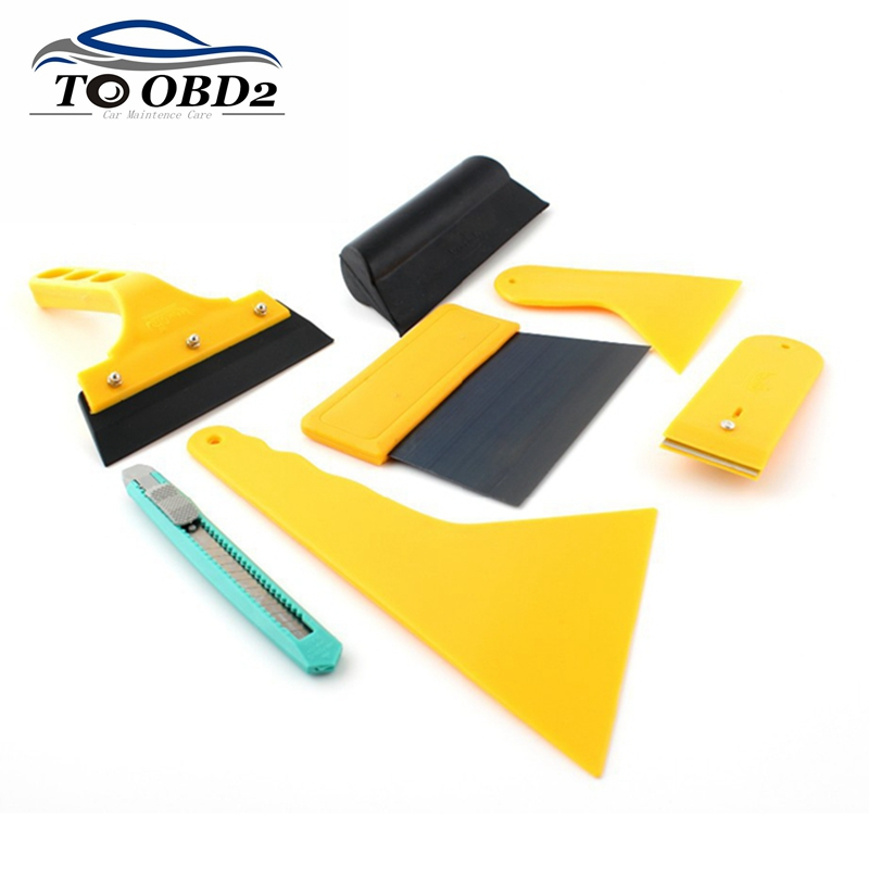 Car Stereo Refit Kits Audio Interior Pry Tool 7pcs/Set For Cleaning Sticker  Car Styling Headlight Knife Design Scraper On Aliexpress.com | Alibaba Group
