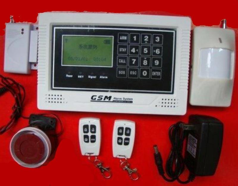 APP Remote Control Touch Keypad GSM Alarm System paradox alarm control system keypad pa 636