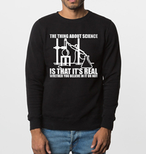 2017 new autumn winter casual hoodies chemistry experiment Real Science print men sweatshirts hip hop style fleece tracksuit