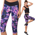 fashion 3D print  pants High waist butt lift  leggings soft light brethable pants slimming waist