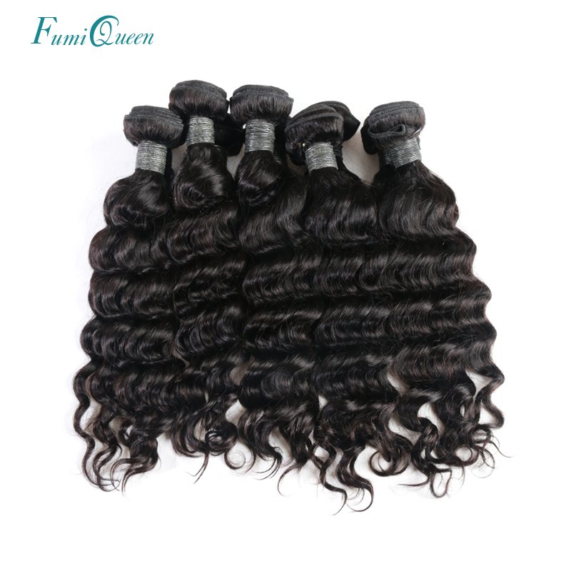 Ali Fumi Queen Hair Products 100% Human Hair 10Pcs Lot Peruvian Natural Wave Remy Hair Weave Natural Color With Free Shipping