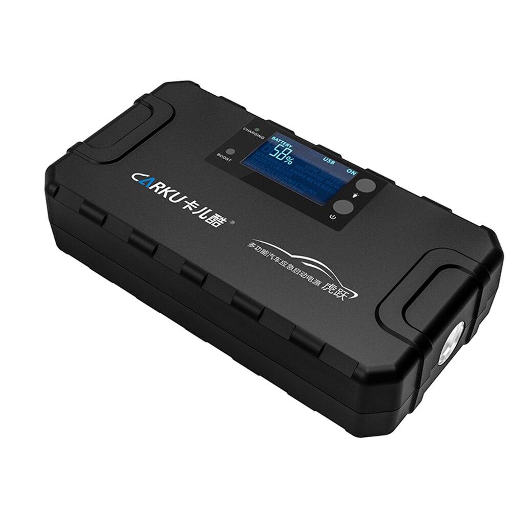 XIAOMI CARKU 48 démarreur de saut de voiture Portable 1000A 16800mAh Auto Li batterie Booster Pack avec USB chargeur de téléphone lampe de poche LED