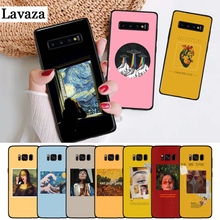 Lavaza Great art aesthetic van Gogh Silicone Case for Samsung S6 Edge S7 S8 Plus S9 S10 S10e Note 8 9 10 M10 M20 M30 M40