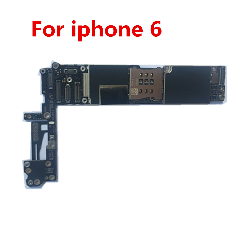 100% Original unlocked for iphone 6  Motherboard Without Touch ID/With Touch ID,for iphone 6 Logic boards,16gb / 32gb / 64gb