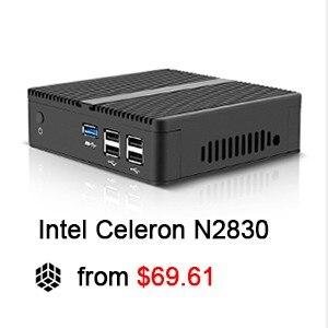 XCY Mini PC Windows 10 Intel Core i3 4010Y i5 4200Y i7 4610Y