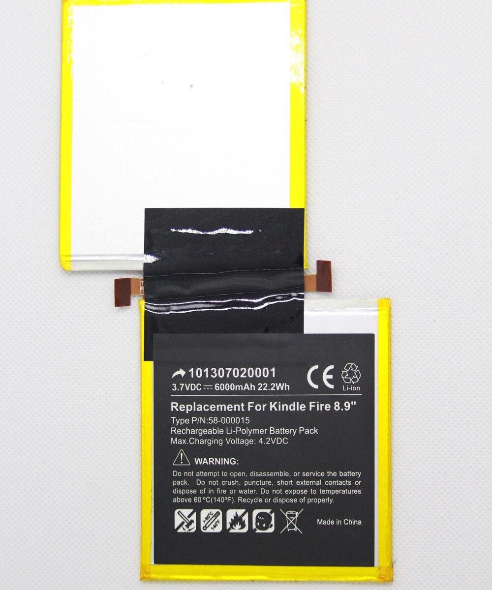 Batterie de remplacement au Lithium pour Kindle Fire HD, 40mAh, pour  tablette de 40.40 pouces 40HT40G S40 40 S40 40 D 540 40, avec outils