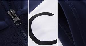 Image 4 - Спортивный костюм мужской с надписью, кофта с капюшоном и штаны, комплект спортивной одежды, большой размер s 5XL