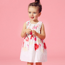 2016 Latest Fashion Dress For Girls Cotton Frock Designs Princess Sofia Dress Baby Elegant Clothes Age 2 3 4 5 6 7 8T Years Old
