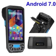 Портативный мобильный компьютер android КПК wifi 2d bluetooth сканер штрих-кодов и gps принтер UHF RFID nfc POS принтер