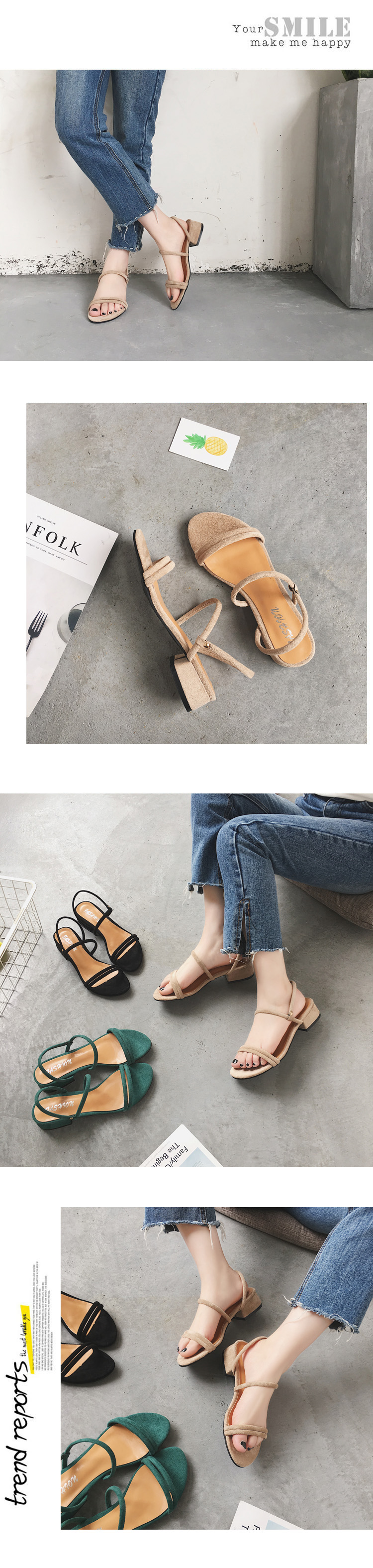 HTB1KhCYlBmWBuNkSndVq6AsApXaE new Flat outdoor slippers Sandals foot ring straps beaded Roman sandals fashion low slope with women's shoes low heel shoes x69