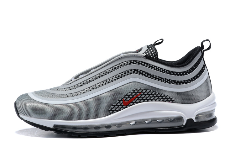 Nike Air Max chaussures de course en plein Air de 97 Hommes baskets Nike Air Max 97 Ultra 17 D'origine Nike Air Max 97 Hommes chaussures