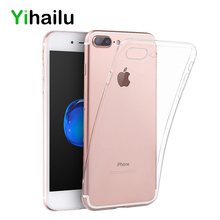 Phone Cases For iPhone 6 Protect Camera Case For iPhone 6s TPU Transparent Back Cover For Apple iPhone 6 7 8 Plus Caso Coque