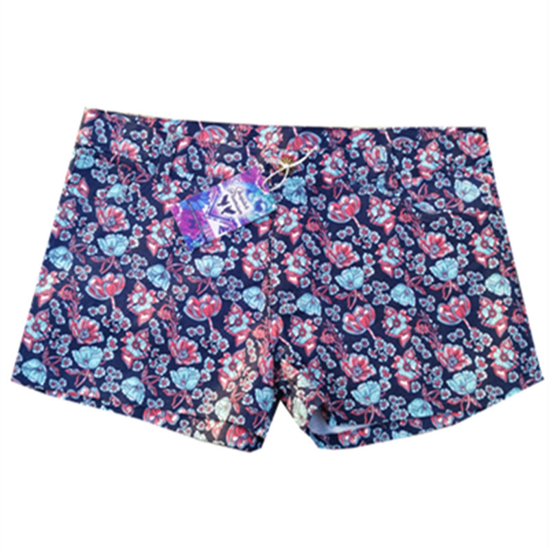 Jeans Feminino High Women Printing High Waisted Shorts Hot Pants Floral Wide Leg Running Pantaloncini Donna Bermuda Feminina Price $10.99