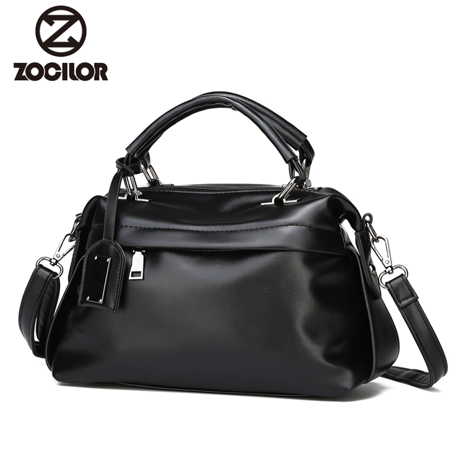 2018 wax oil PU leather bag ladies hand bags women handbag designer handbag high quality woman bag women famous brand sac a main new designer woman oil wax genuine leather bag cowhide fashion day clutches long purse female ladies handbag for men famous bags