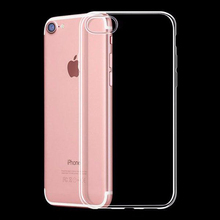 купить Case for iPhone XS Max XR X 6 6S 7 8 Plus 5 5S SE 4 4S Soft TPU Silicone Protective Case Clear Transparent  Back Cover по цене 103.56 рублей