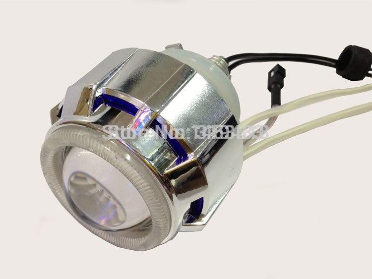 2.0ABT 2'' inch 35w Bi Xenon hid projector lens light blue white red double angel eyes H4 6000k 4300K 8000k + 1pc ballast hireno headlamp for mercedes benz w163 ml320 ml280 ml350 ml430 headlight assembly led drl angel lens double beam hid xenon 2pcs