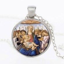 Статуя Девы Марии ожерелье наша Леди