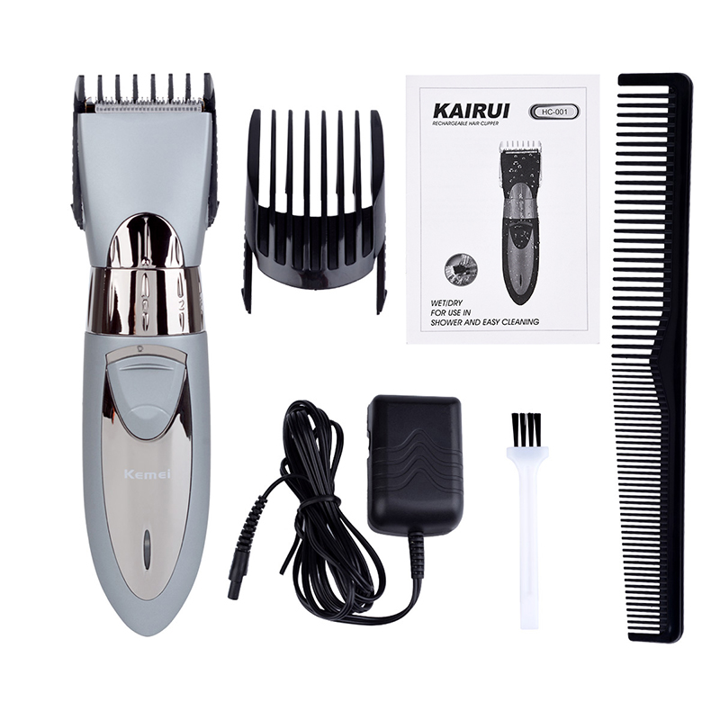 где купить Kemei Hair Trimmer Electric Hair Clipper Shaver Beard Trimmer Razor Barber Hair Shaver Tool Men Electric Haircut Machine Hair дешево