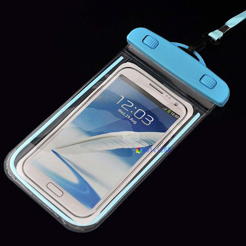 MIWIND Luminous Glow Waterproof Pouch Bag Pack Case Cover