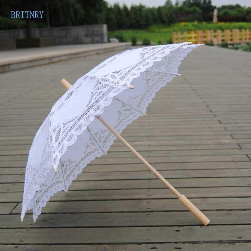 Hand-Made-White-Victorian-Umbrella-Lace-Wedding-Bridal-Umbrella (3)