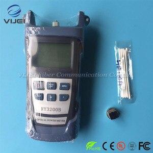Image 3 - Набор инструментов FTTH 2 в 1, Визуальный дефектоскоп 5 км, оптический измеритель мощности SC/FC RY3200B OPM RY3200B 50 ~ + 26 дБм