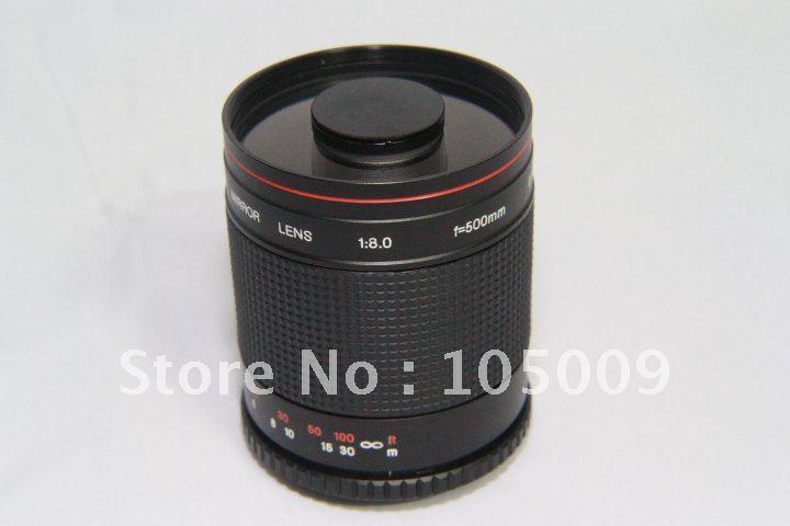 500mm f8 MIROIR TÉLÉOBJECTIF pour nikon d90 d3 d300 d600 d700 d800 d80 d7200 d5200 d3100 dslr caméra