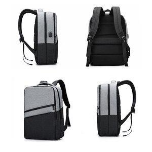 Image 4 - Fengdong גבוהה תיקי בית הספר בנים אופנה גדול בית ספר תרמיל מחשב נייד תיק 15.6 סטודנט usb תרמיל עבור ילד