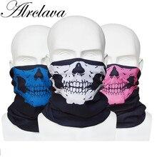 Многофункциональная бандана Велосипедный спорт маска для лица Труба шейный платок спортивный головной убор с изображением черепа