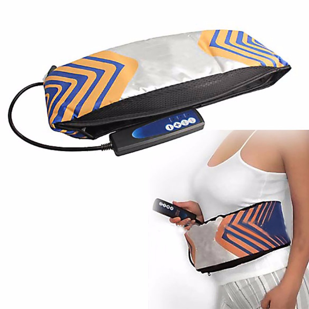 Beauty Electric Vibrating Slimming Belt Body Shaper Fat Burning Massage Belt RELAX Vibrating Weight Loss Losing Effective купить