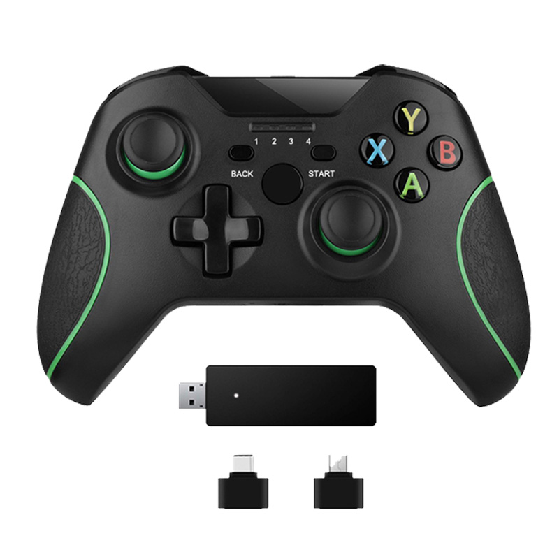 24 г беспроводной контроллер для Xbox One консоли ПК Android геймпад для смартфона джойстик купить на AliExpress