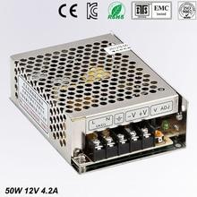12V 4.2A MS-50-12 MINI led driver, mini switching power supply,min power switch,mini size smps Genuine guarantee ms 50 12 50w 12v 4 2a mini size led switching power supply transformer