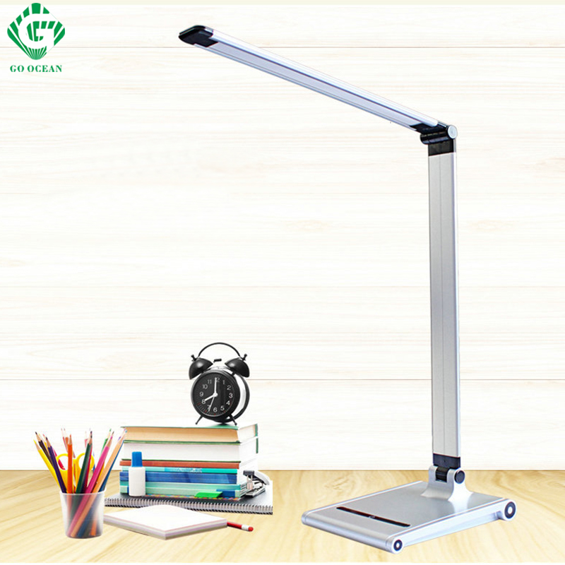 Desk Lamps Reading Light USB Book Gooseneck Dimmer Rechargeable Table Lamps for Study LED Night Lights Desktop Lighting creative hose led desk lamps usb charger dimming lights reading desk lamps bedroom dormitory night light indoor lighting