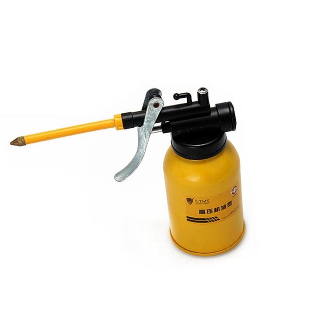 High Quality 250g HVLP Oiler Spray Gun Metal Tube Oil Pot Pump Multi Machine Professional Grease Hand Tools Airbrush Lubricator