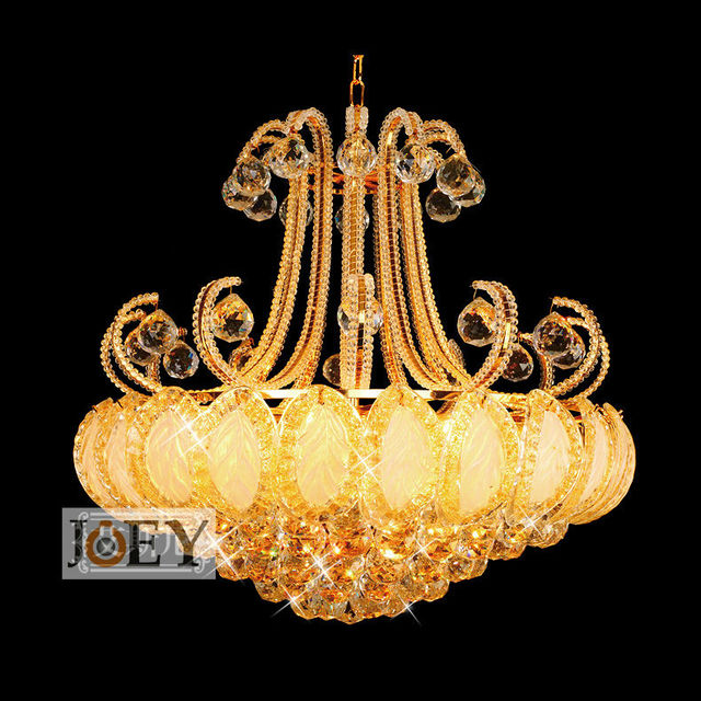 Aliexpress buy traditional crystal chandeliers lighting gold traditional crystal chandeliers lighting gold palace light luxury hotel lamp for restaurant guaranteed 100 mozeypictures Choice Image
