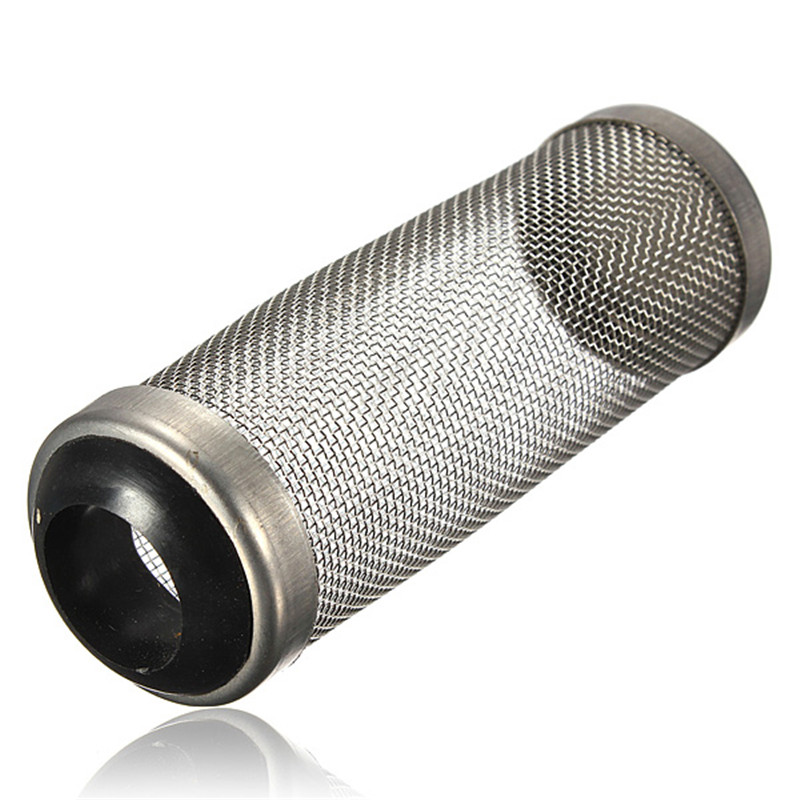High Quality Stainless Steel Metal Filter Tube Aquarium Filter Inflow Inlet Basket Mash Shrimp Guard Protect