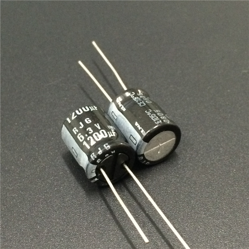 50pcs 1200uF 6.3V Nichicon HD 10x12.5mm 6.3V1200uF Super Low Impedance Capacitor
