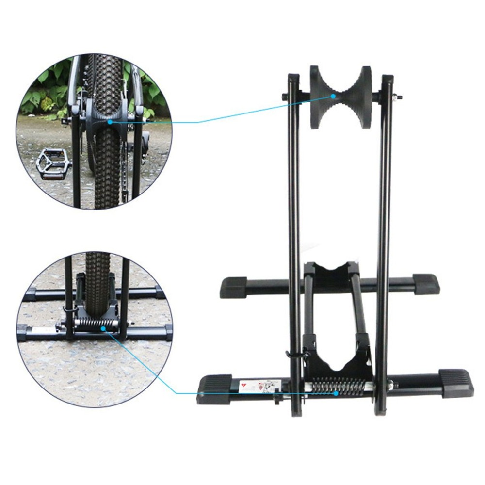 Bike Repair Stand Bicycle Alloy Repair Desk Tool Aluminum High Quality Bicycle Accessories Mountain Parking Hanger Tools 44pcs set mountain bike patchs maintenance repair box diagnostic tools kit valuables cycling chain case bicycle accessories