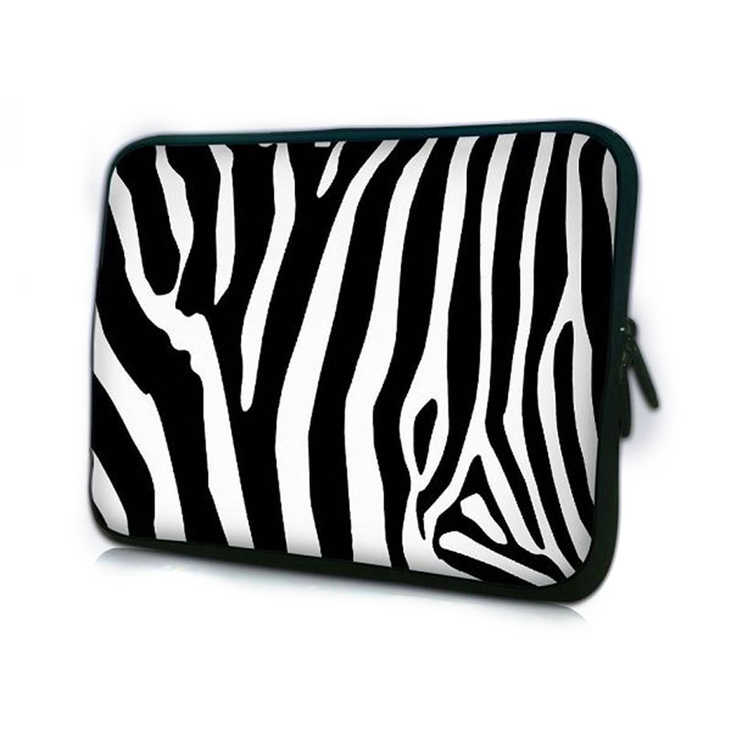 Promotion Zebra Computer Bag Notebook PC Smart Cover For ipad MacBook waterproof Sleeve Case 7 10 12 13 14 15 inch Laptop Bags