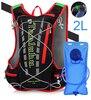 Black backpack 2L